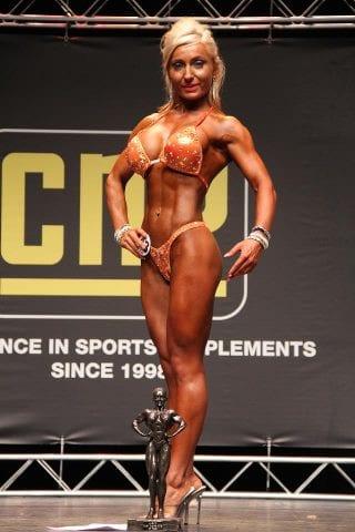 Yo with Body Fitness Trophy