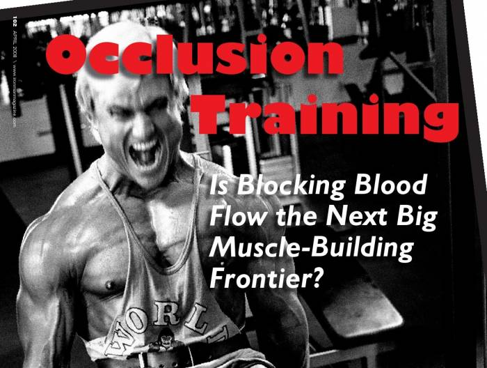 Is Occlusion Training Effective?