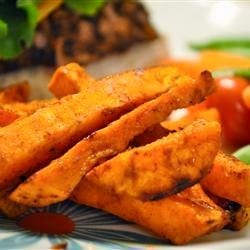Today's Recipe: Baked Sweet Potato Wedges