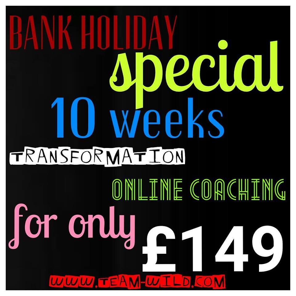 Bank Holiday Special | Sign Up and Build Yourself A Better Body