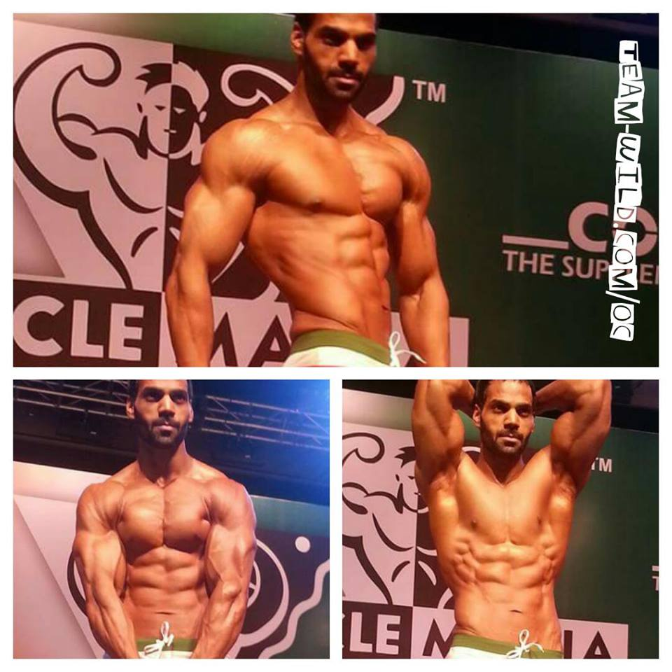 Team Wild Athlete Jitendra Chouksey Won Musclemaina Muscle Model Division In India