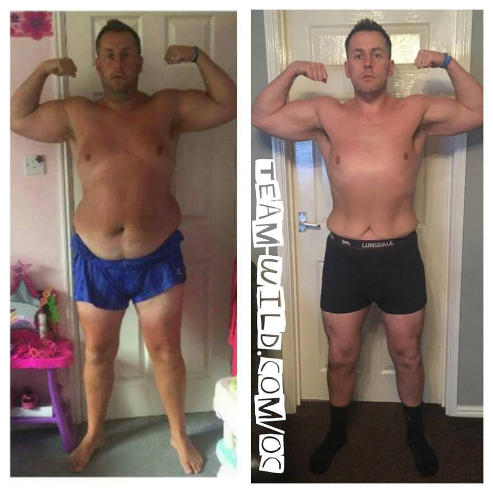 A frankly massive well done to TEAM WILD client Craig!