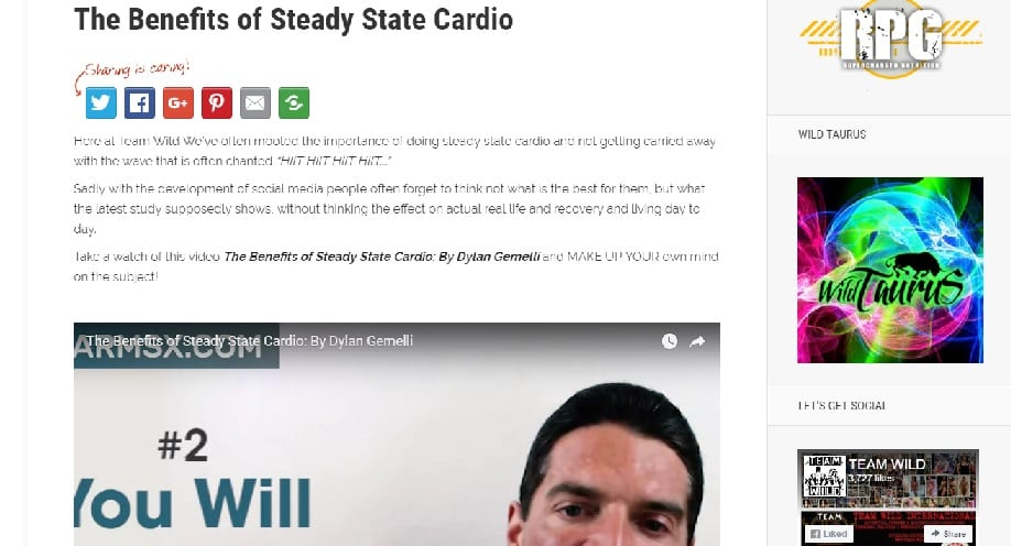 The Benefits of Steady State Cardio