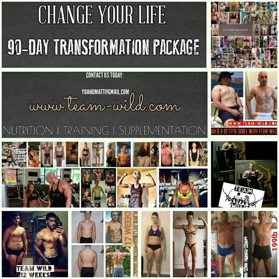 TEAM WILD Is Offering You The Chance To Look Amazing This Year!