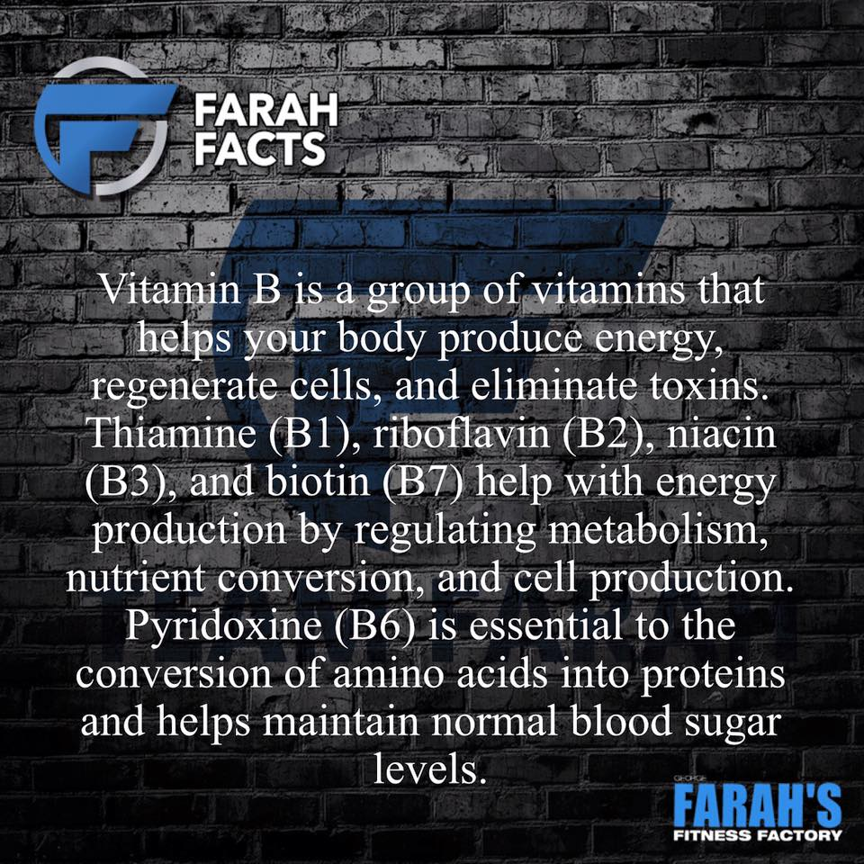 Don't Overlook Your B-Vitamins for Muscle Growth | George Farah Facts