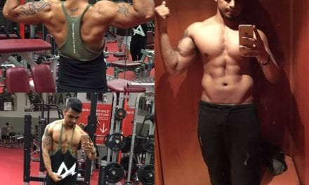 TEAM WILD Client Kiran During His Lean Bulk!
