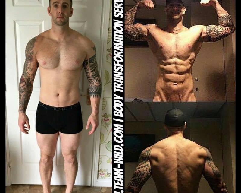 Stuart's 12 Week Progress!