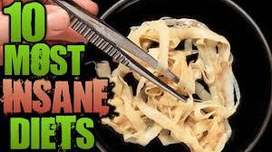 10 Most Disturbing Diet Trends