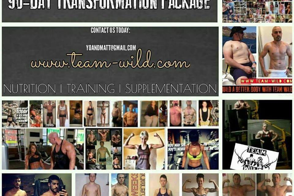 90-DAY TEAM WILD TRANSFORMATION PACKAGE